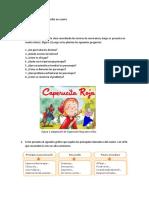 CLASE 1 Recordar Cómo Escribir Un Cuento
