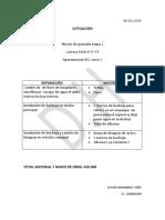Cotizacion Rincon de Granada 2