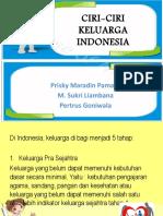 Ciri-ciri Keluarga Indonesia