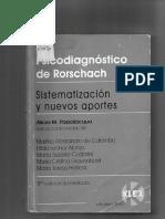 Psicodiagnostico Rorschach Sistematizacion y Nuevos Aportes