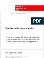 3.7. Revision y Vigilancia Del Nivel de Ruido