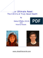 Your Ultimate Asset - The ABC's of Truely Good Health - Dr. O'Rielly eBook