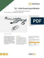 Dual-Power-Input-Module DUA23 DUA25