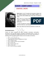 Albert Camus l Etranger Chap i (1)