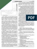 RM N° 026-2014-PCM - CREA GRUPO DE TRABAJO MULTISECTORIAL - CREACION DEL PROGRAMA PRESUPUESTAL PARA ERRADICAR MINERIA ILEGAL, ETC
