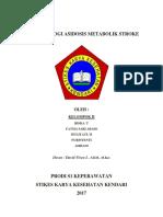 Patofisiologi Asidosis Metabolik Stroke