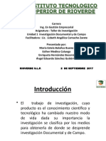 Inv-documental y de CAMPO
