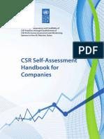 CSR Self Assesment UNDP