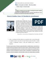 CLC 5 - Ficha de Trabalho Tema 3 -4RA