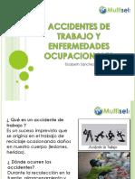Accidentes de Trabajo y Enfermedades Ocupacionales