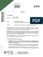 Circular CR-20160005 Cursos Modelo OMI Orientados a Sensibilización Sobre Protección