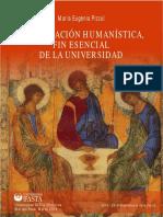 La Formación Humanística, Fin Esencial de La Universidad - María Eugenia Pizzul