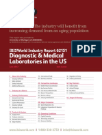 62151 Diagnostic & Medical Laboratories in the US Industry Report