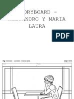 Storyboard - Alejandro y Maria Laura