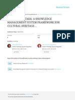 Virtual Nusantara a Knowledge Management System Framework