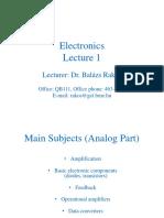 Electronics 1