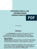 Separaciones Cromatograficas Analitica III