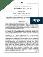 1132 Por La Cual Se Modifica La Resolucion 4678 de 2015