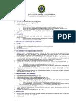 Crimes Ambient a Is e Juizados Especiais - Roteiro