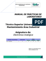 Manual de Prácticas de Electrónica(Tiristores)