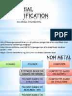 Material Classification Non Metal