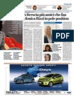 Bresciaoggi_10082111_Politici e Facebook