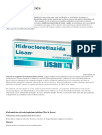 La Hidroclorotiazida