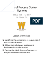 2. Basics of Process Control Systems
