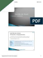 CPTIG OEAG M4 6.2. Gestao Stocks Armazens e Equip