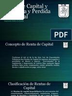 Renta de Capital y Ganancia y Perdida de Capital