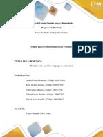 Unidad 2 Fase 3 Propuesta Social