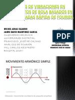 Aplicacion del analisis de Fourier para daños en Rodamientos