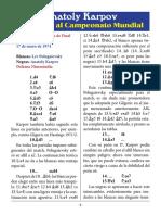 1- Polugaevsky vs. Karpov