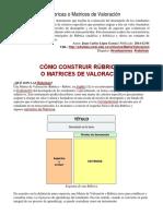 LOPEZ Como Construir Matrices de Valoracion 2014
