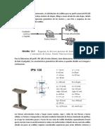Tren de Laminación de Rodillos para producir un Perfil IPN 100 A36