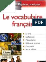 Repères Pratiques. Le Vocabulaire Français.