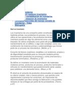 Definicion e Importancia de Los Inventario Semana1