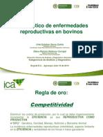 ICA Diagnostico de Enfermedades Reproductivas en Bovinos