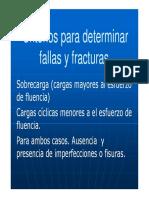 Criterios Para Determinar Fallas y Fracturas