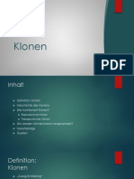 Klonen - Presentation