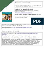 Biofuels in Brazil Debates and Impacts