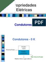 Aula 1.1- Propriedades Elétricas - Condutores