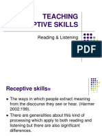Teaching Receptive Skills