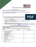 civil war webercize