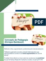 Pedagogia Bambozzi y Pasillas