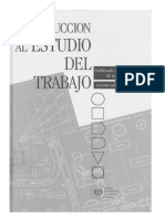 Introducción Al Estudio Del Trabajo OIT.