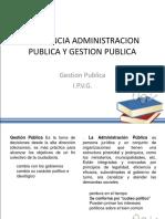 gestión publica