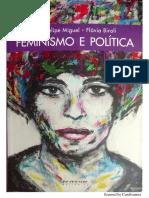 O feminismo e a política - Luis Felipe Miguel