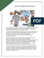 La Globalización y Su Impacto Social en El Perú