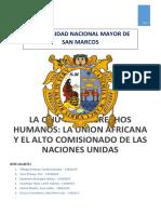 La ONU y Los Derechos Humanos1